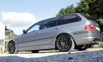 BMW E46 Touring Barracuda Racing Wheels Felgen Karizzma 4.