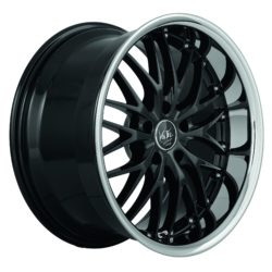 Alufelge Barracuda Voltec T6 Higloss Black Inox Lip 2 2000x2000