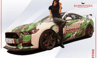 Barracuda Model Mit Virus Mustang