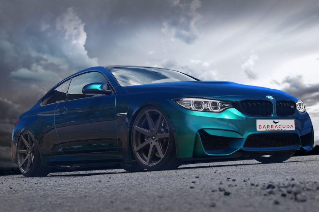 Bmw M4 Infected With 20 Inch Virus Rim Barracuda Wheels