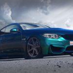 BMW M4 mit Virus-Felge in 20 Zoll infiziert