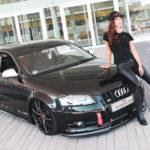 Sabrina Doberstein präsentiert Audi S3 (8P) mit Project 3.0