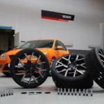 Barracuda Tzunamee EVO 8×18 + Racing Bolts silber demnächst auf dem Focus