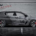 Felgen für den Peugeot 308 von Barracuda Wheels. Design Tzunamee EVO