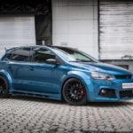 HS Motorsport präsentiert Barracuda Karizzma 18 Zoll Felgen auf dem Polo 6R