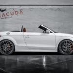 Barracuda Racing Felgen 8,5×20 für den Audi TT + KW Gewindefahrwerk