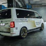 JMS Umbau für den VW Bus T6 mit kw suspension Gewindefahrwerk Variante 3 und Corspeed Challenge Felgen