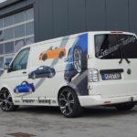 Unser Klassiker Barracuda Tzunamee in 9×20 auf dem VW Bus T 5 (auch passend T6)