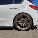 Barracuda Shoxx in matt bronze für den Ford Focus ST