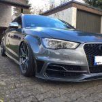 Barracuda Inferno auf tiefem Audi S3