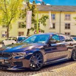 Neuer BMW M5 F 90 mit Barracuda Racing Felgen 21 Zoll extrem konkav