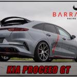 Kia Proceed GT mit Barracuda Inferno 19 Zoll Felgen by Giacuzzo